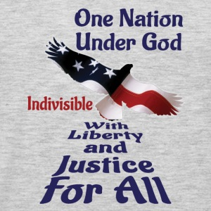 One Nation Under God Baby & Toddler Shirts - Men's Premium Long Sleeve T-Shirt