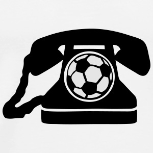 soccer ball telephone telefon 1 Tanks - Men's Premium T-Shirt