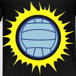 water polo volleyball sun ball explosion Kids' Shirts - Toddler Premium T-Shirt