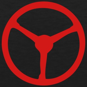 steering wheel 3 T-Shirts - Men's Premium Tank