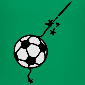 soccer pencil drawing fountain pen ink Kids' Shirts - Toddler Premium T-Shirt