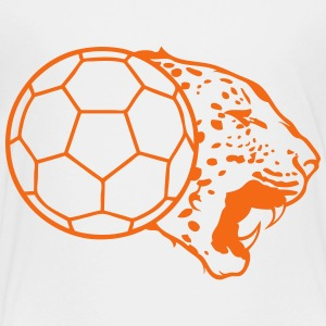 leopard handball ball logo 2 Kids' Shirts - Toddler Premium T-Shirt