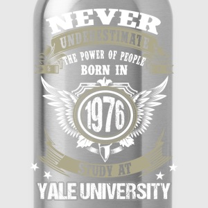 Born in 1976, study at Yale University - Water Bottle