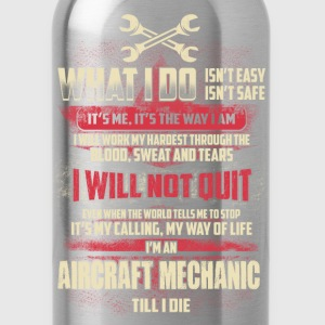 Aircraft mechanic - My way of life - Water Bottle