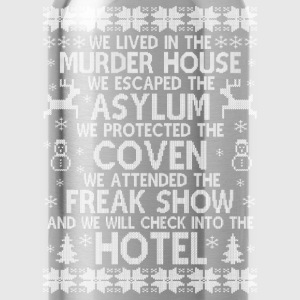 American Horror story hotel - Christmas sweater - Water Bottle