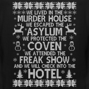 American Horror story hotel - Christmas sweater - Men's Premium Tank