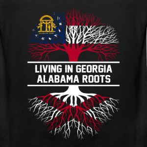 Made in Alabama - Live in Georgia - Men's Premium Tank
