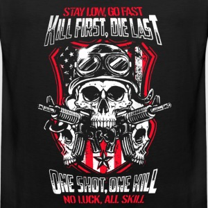 Airsoft - Kill first, die last. One shot, one kill - Men's Premium Tank