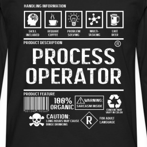 Process operator - Content may vary in color - Men's Premium Long Sleeve T-Shirt