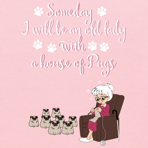 lady- some day I wikk be an old lady with a house - Kids' Hoodie