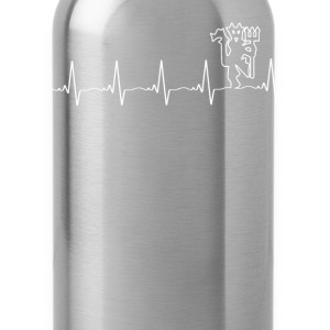 Manchester United - My heartbeat is the Red Devil - Water Bottle