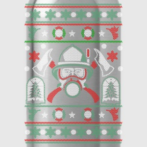 Christmas ugly sweater for Firefighter - Water Bottle