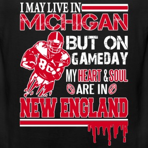 Michigan rugby fan - my heart and soul - Men's Premium Tank