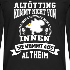 Cool T-shirt for Altheim Austria citizens - Men's Premium Long Sleeve T-Shirt