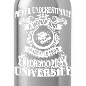 Woman from Colorado Mesa University - Water Bottle