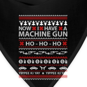 Machine gun owner - Ugly Christmas Sweater - Bandana