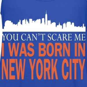 Newyork -you can't scare me was I born in New york - Women's Flowy Tank Top by Bella