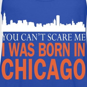chicago- I was born in chicago - Women's Flowy Tank Top by Bella