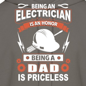 Electrician - being an electrician is an honor - Men's Hoodie