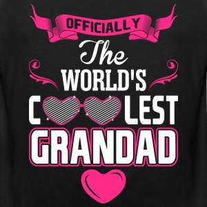 Officially The Worlds Coolest Grandad T-Shirts - Men's Premium Tank