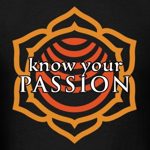 Know Your Passion Sacral Chakra Hoodie - Men's T-Shirt