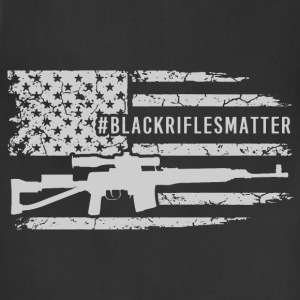 rifle - black rifles matter - Adjustable Apron