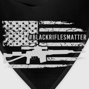 rifle - black rifles matter - Bandana