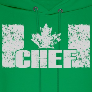chef- canadian chef - Men's Hoodie