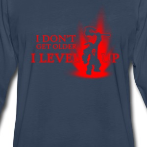 level- I don't get older I level up - Men's Premium Long Sleeve T-Shirt