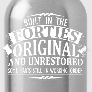 Forties- built in the forties original - Water Bottle