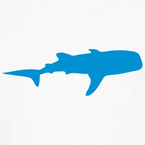 whale shadow figure 2 T-Shirts - Men's Premium Long Sleeve T-Shirt