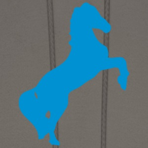 horse shade shadow figure 89 T-Shirts - Men's Hoodie