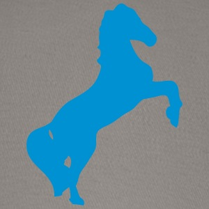 horse shade shadow figure 89 T-Shirts - Baseball Cap