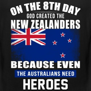 On the 8th day god created the new zealanders - Men's Premium Tank
