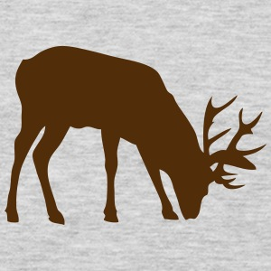 deer shadow figure 3 T-Shirts - Men's Premium Long Sleeve T-Shirt