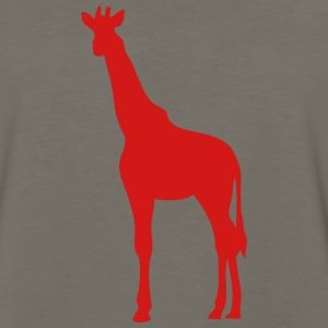 giraffe shadow figure 2 T-Shirts - Men's Premium Long Sleeve T-Shirt