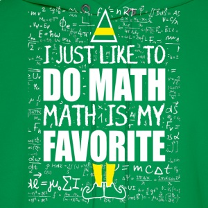 Math – I just like to do math,math is my favouri - Men's Hoodie