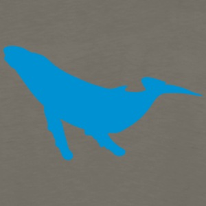 whale shadow figure 22 Kids' Shirts - Men's Premium Long Sleeve T-Shirt