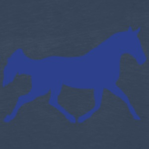 horse shade figure 82 T-Shirts - Men's Premium Long Sleeve T-Shirt
