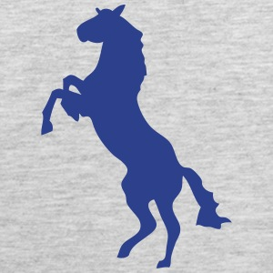 horse shade shadow figure 87 T-Shirts - Men's Premium Tank