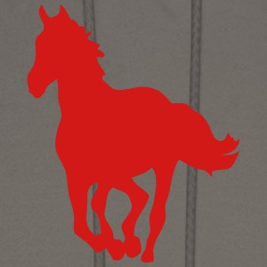 horse shade shadow figure 8 T-Shirts - Men's Hoodie