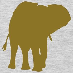 elephant shadow figure 108 T-Shirts - Men's Premium Long Sleeve T-Shirt