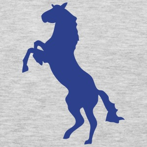 horse shade shadow figure 87 T-Shirts - Men's Premium Long Sleeve T-Shirt