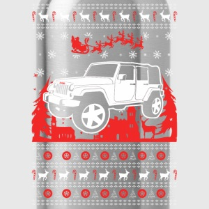 Jeep Christmas Sweater - Water Bottle