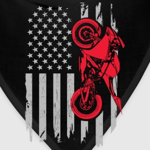 Sports bike flag - Bandana