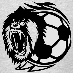 open soccer logo monkey mouth Long Sleeve Shirts - Men's T-Shirt