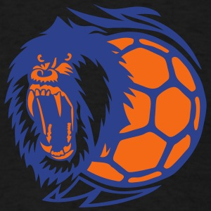 open handball logo monkey mouth  Long Sleeve Shirts - Men's T-Shirt
