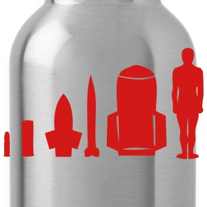 human bomb evolution T-Shirts - Water Bottle