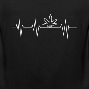 Stoner - hearbeat - Men's Premium Tank