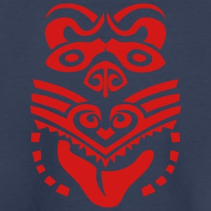 maori tattoo mask tribal mask ethnic 4 Kids' Shirts - Toddler Premium T-Shirt